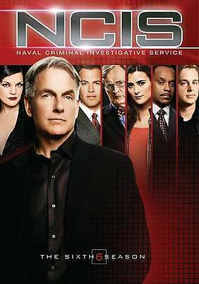 NCIS - The Complete Sixth Season (DVD, 2009, 6-Disc Set) NEW Sealed