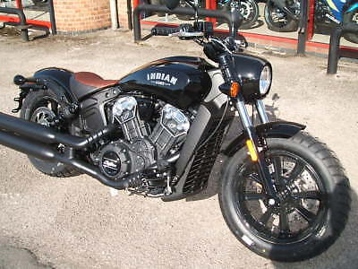 Indian Scout Bobber- New Unregistered MY18 - From only £99pcm!!