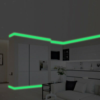 Luminous Wall Sticker DIY Glow in the Dark Warning Tapes Night Light Decal