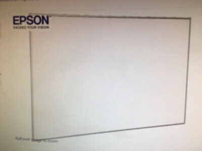"""EPSON-100"""" Whiteboard for Projection / Dry Erase Conference Room Education"""