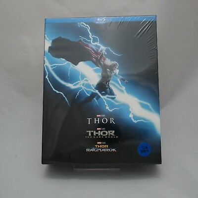 Thor 3 Movie Collection .Blu-ray Trilogy Box Set