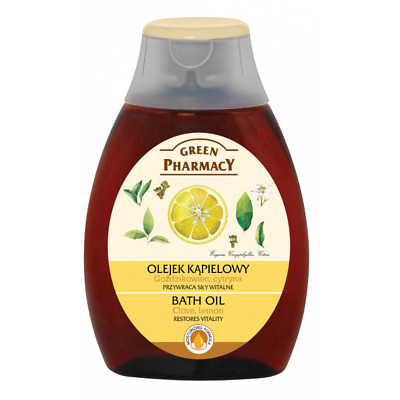 Green Pharmacy BATH OIL - Clove & Lemon Herbal Care 250ml