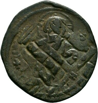 Byzantine Coins, Bust of Jesus , AE 10,5gr