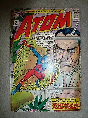 The Atom #1 GOOD tape stains but solid