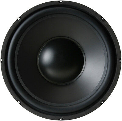 "NEW 12"" 12-inch, 8-ohm Woofer Poly Cone Rubber Surround Speaker Low Bass Driver"
