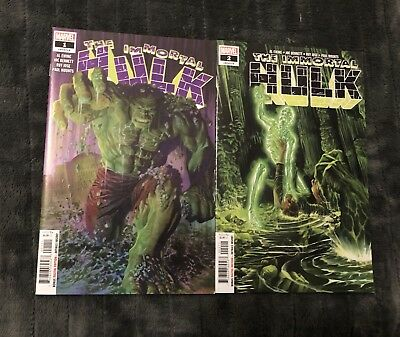 The Immortal Hulk  #1 & 2 Hot Book Nm Perfect Cgc Worthy