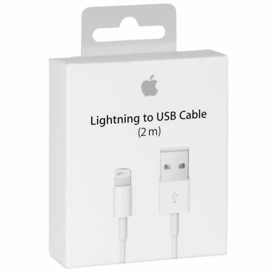 Apple Lightning Original Cable for iPhone 7, 7 Plus 6 6s 5 5s USB Charger