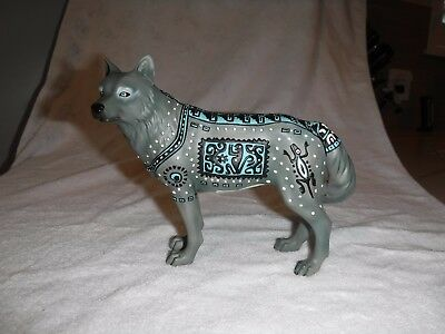 Call of the Wolf Aztec Wolf Figurine