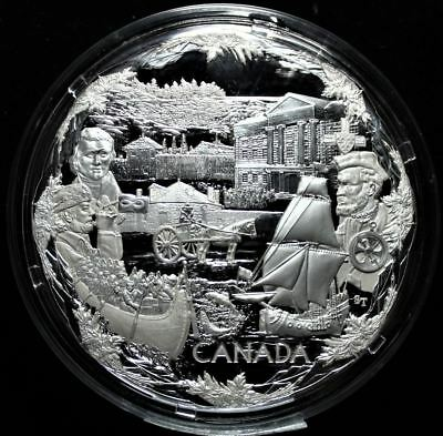 2008 $250 Vancouver 2010 Olympic Winter Games: Towards Confederation NGC PF 69 U