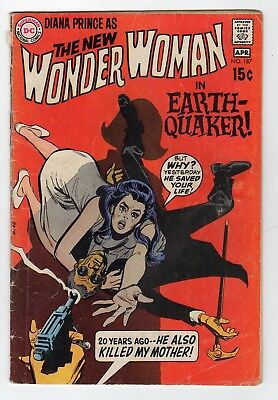 Wonder Woman DC Comic #187: Mar-Apr 1970