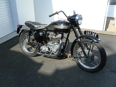 TRIUMPH TIGER T100 1955 500cc ,MATCHING NUMBERS PROJECT