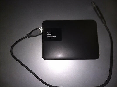 WD EasyStore External USB 3.0 Portable Hard Drive, 4TB, Black
