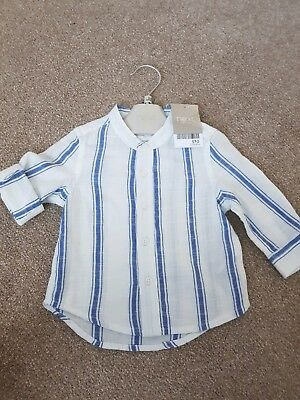 Next Boys 3-6 Months Cotton Shirt