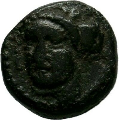 Greek Coins, Unidentified AE  VERY RARE 0,61gr