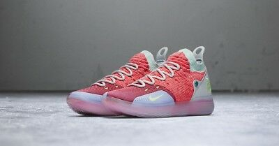 Nike KD 11 HOT PUNCH (PEACH JAM) EYBL US 7 & 8,5 UK 6 & 7,5 Größe 40, 42