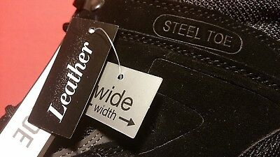 Die Hard Steel Toe Boots Genuine Leather !!! Sizes 10.5* 9.5 and 13