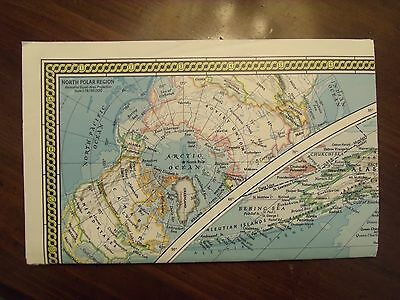 National Geographic MAP of the World Endangered Earth 1988 Large