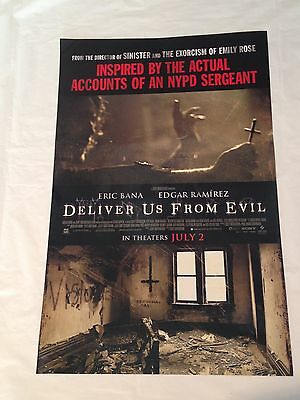 Deliver Us From Evil - 11x17-Promotional Movie Theater