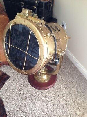 Vintage Brass Nautical Signal Light