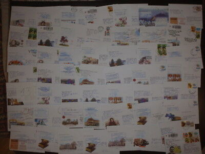 50 envelopes of Ukrainia really passed the postal circulation №13