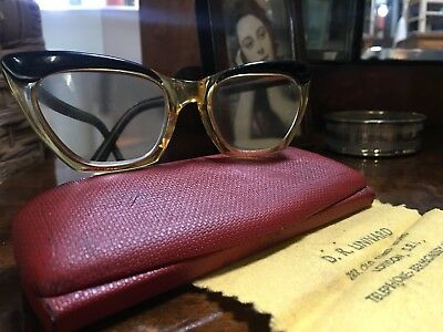 Vintage Cats Cat Eye Glasses -  Spectacles 50's 60's