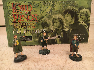 Lord of the Rings 'The Hobbits' (William Britain) Hand Painted Collectibles CIB