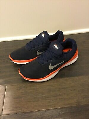 ... Nike Free Trainer V7 NFL shoes mens new AA1948 401 Denver Broncos  trainers blue ... 00ac68792
