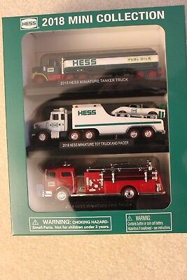 2018 Hess Mini Collection 3 Pack Set - SOLD OUT - NEW