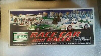 Hess Race Car and Racer (2009 Original Issue) Still Sealed<>Out-Of Print