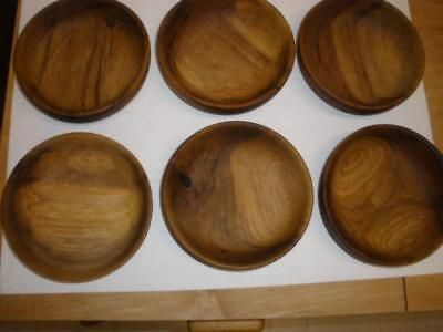 "6 piece set of MYRTLEWOOD BOWLS 6""s from Oregon mint useable condition"