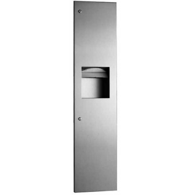 B3803 Bobrick Recessed Paper Towel Dispenser and Waste Bin
