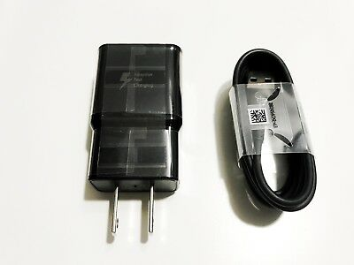 Samsung Adaptive Fast Travel Wall Charger for Galaxy S9 S8 Plus Note 8 w/Cable