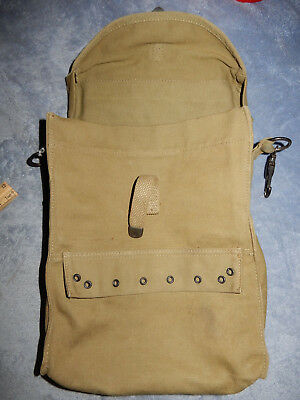 Original Wwii Us Army Khaki Medic Bag With Sangles And Insert