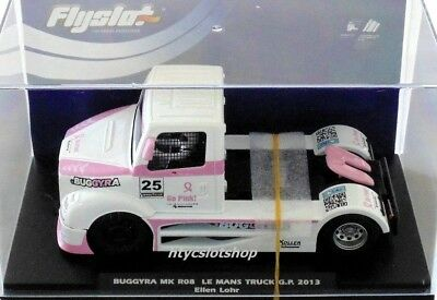 """Fly """"Go Pink"""" Edition Buggyra Mk08 Racing Truck - Le Mans Truck Gp 2013 - New"""