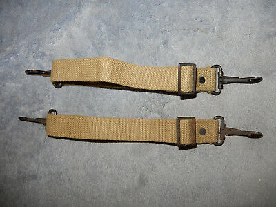 Original Pair Of Wwii Us Army Medic Bag Harness Straps