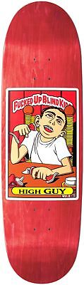 "Blind - FUBK High Guy Red Screened 9.0"" Reissue Skateboard Deck"