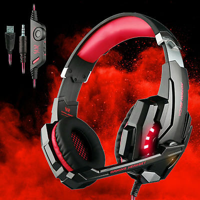 Each G9000 Gaming Headsets Headphones for PS4 Xbox One / S Controller with Mic