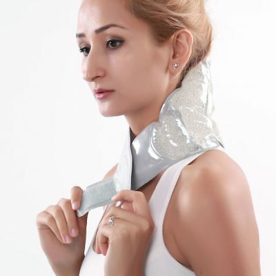 Reusable Hot and Cold Pack Microwaveable Heat Ice Gel Wrap Bag Neck Pain Relief