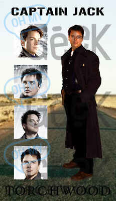 Torchwood Captain Jack Harkness Magnet - More designs available!