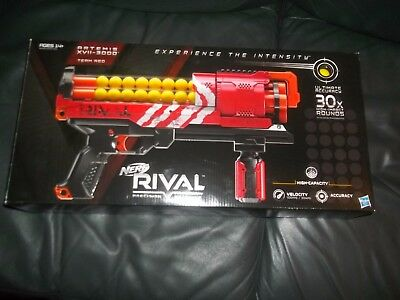 NEW Nerf Rival ARTEMIS XVII-3000  Red Team Guns New Sealed