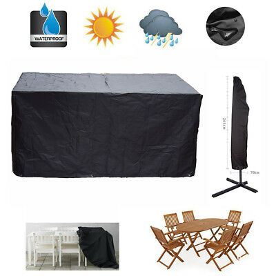 Furniture Cover Covers Waterproof Garden Patio for Rattan Table Cube Rain Cover