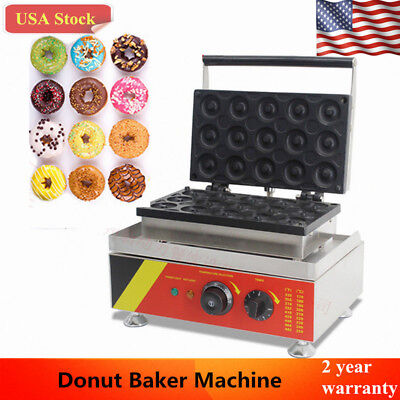 Commercial Doughnut Maker Automatic Donut Maker Baker Making Machine Nonstick