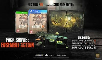 Resident Evil 7 Steelbook Edition PS4 Neuf New !