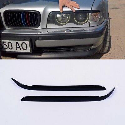 bmw e38 HEADLIGHT EYE LID BROWS EYELIDS EYEBROWS COVER for all e38