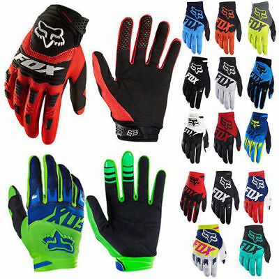 AU Men Women MTB Cycling Bicycle Bike Motorcycle Glove Full Finger FOX Gloves