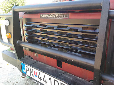 Land Rover Defender heavy duty modular metal radiator grille