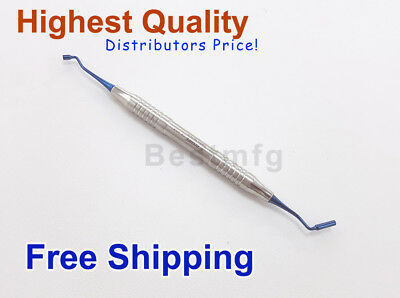 Dental Bone Pluggers 3mm Blue Titanium Gingival Grafting Surgical Instruments 1x