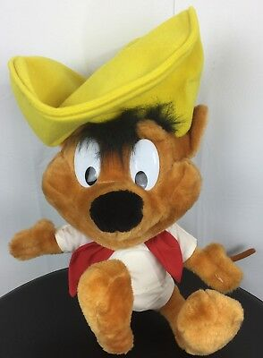Speedy Gonzales Plush Stuffed Animal Mouse Toy 18""