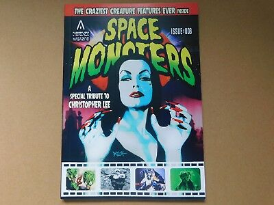 Space Monsters #8. New. Christopher Lee Tribute. Hammer Horror, Free P+P