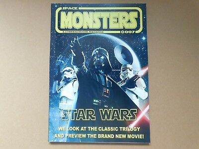 Space Monsters #7. Star Wars Edition, New, Free Uk P+P,